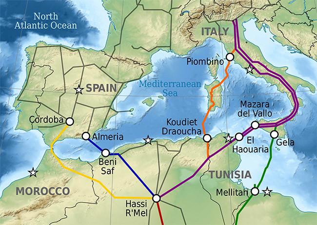 Gaseoductos Espana