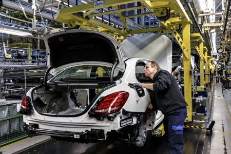Mercedes-Benz fábrica
