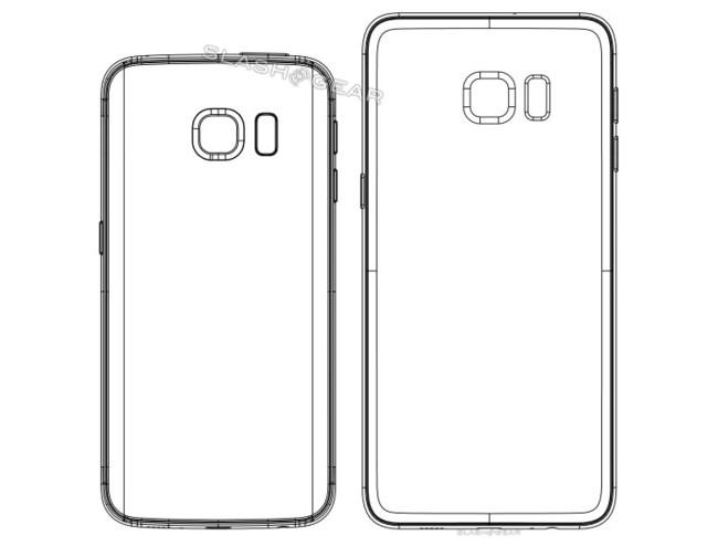 Galaxy S6 Edge Plus Diagrams Back