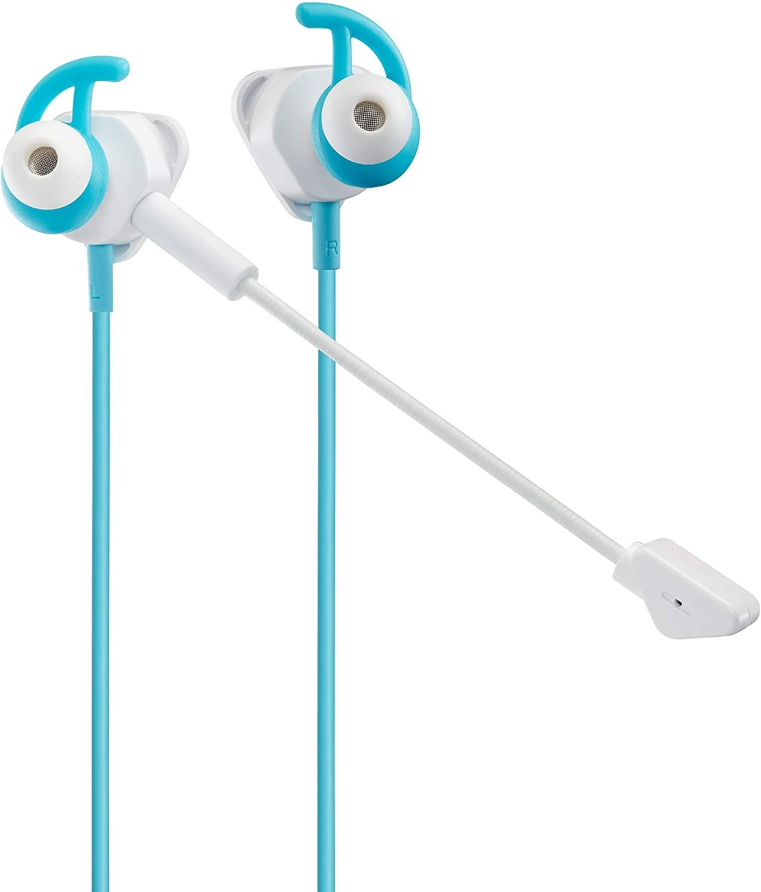 Turtle Beach Battle Buds In-Ear Universal Gaming Headset - White/Teal