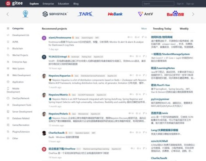 China desenvolve Gitee como alternativa ao GitHub