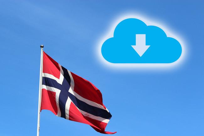 Intercambio Archivos Noruega Descargas Ilegales
