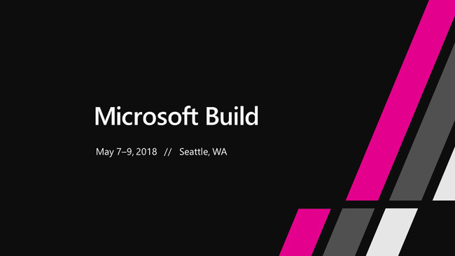 Microsoft Build 2018 Placeholder