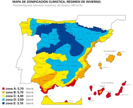 Climaticorect map