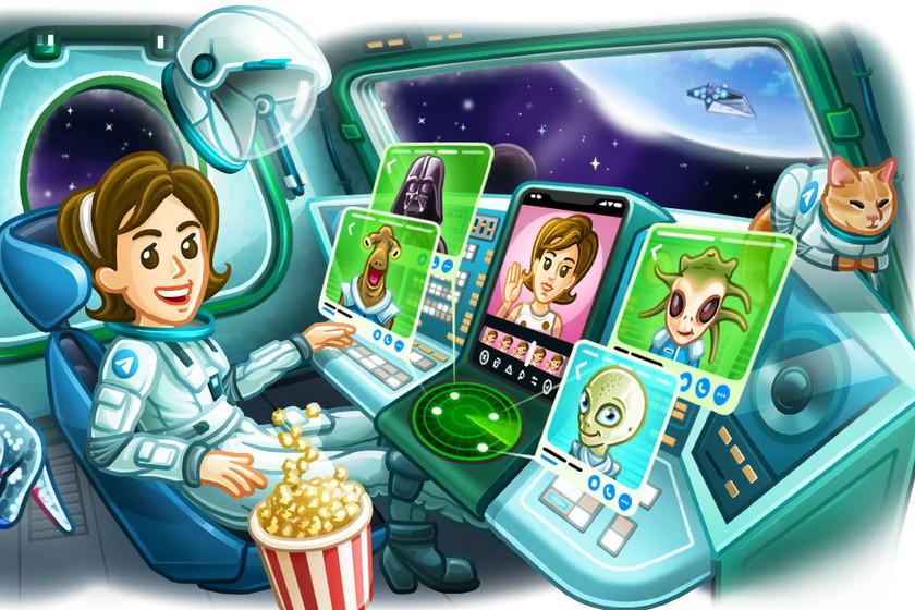Telegram updates for file uploads up to 2GB, animated avatars, and advanced statistics