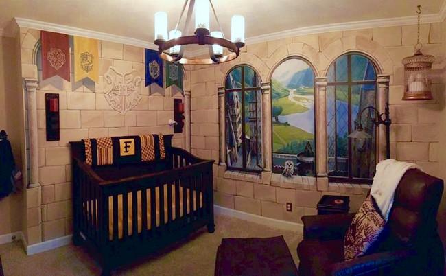 Harry Potter habitación de bebé