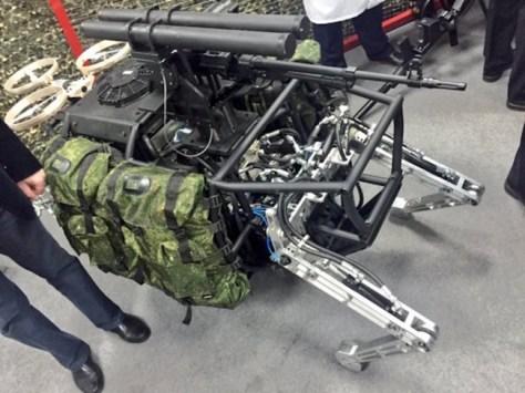 Robot Ruso Combate