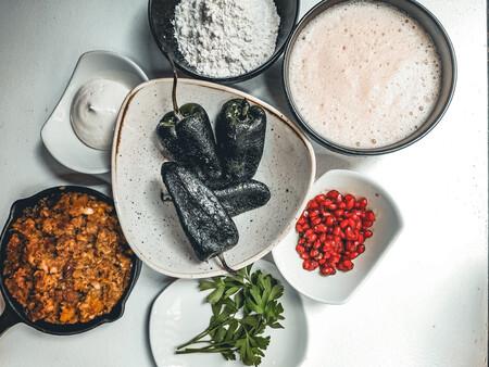 Chiles Carne Guisada Nogada Granada The Ingredients Of This Dish So Typical Of Mexico C Jose Maria Yunquera