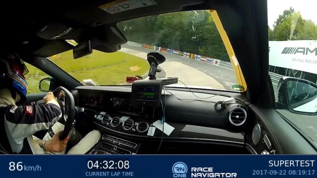 El Mercedes-AMG E 63 S Estate marca un 7:45 en Nürburgring Nordschleife: ¡vivan las ranchera!