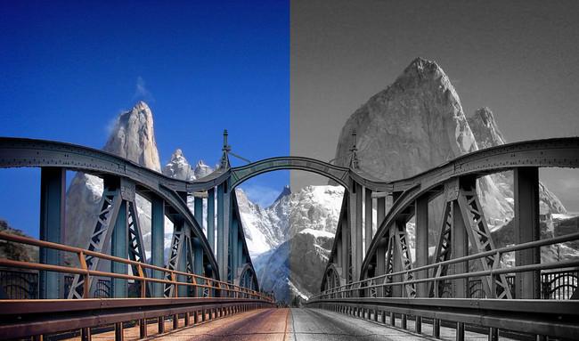 Foto Antes Y Despues Puenta Montana