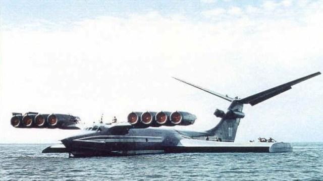 Ekranoplano 11