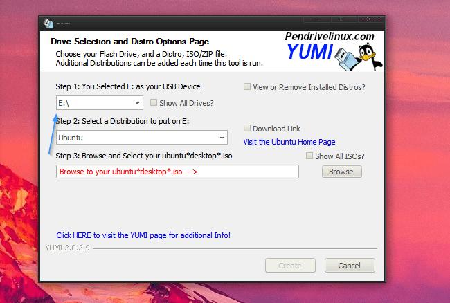 Yumi Seleccionar Unidad