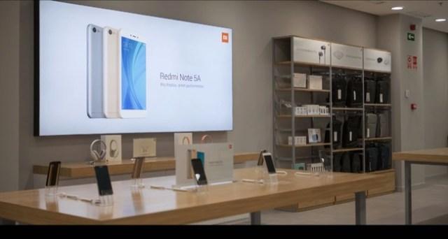 Captura de una de las imagenes de una de las tiendas españolas