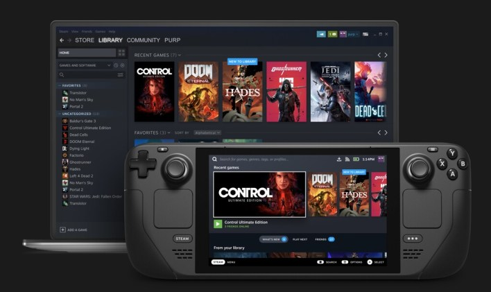 Valve anuncia la Steam Deck, su propia Nintendo Switch para juegos de PC
