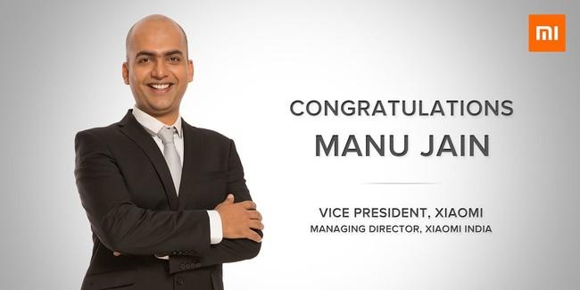 Manu Jain Xiaomi