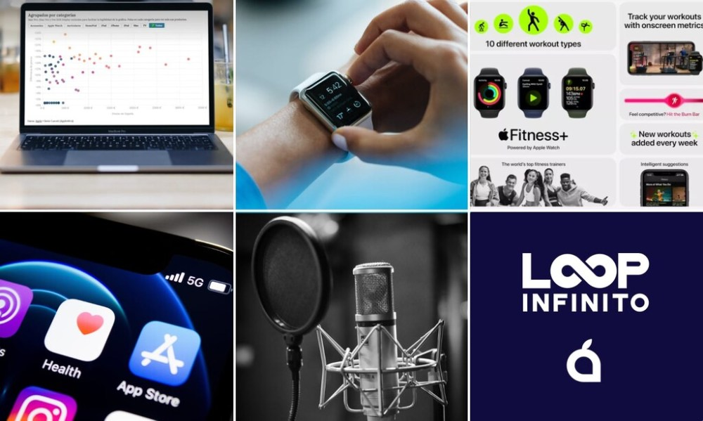 Variación de precios en España, por fin en Fitness+, el problema del millón de dólares... La semana del podcast Loop Infinito