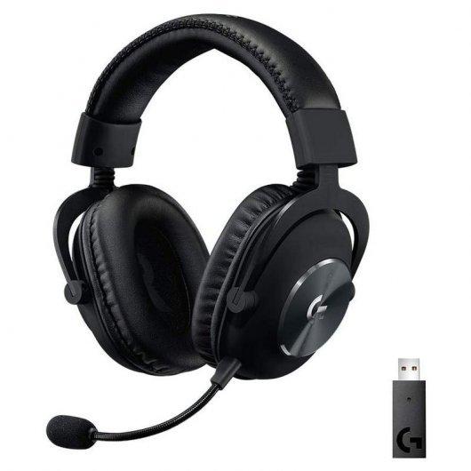 Logitech G Pro X Auriculares Gaming Inalámbricos con Lightspeed Negros