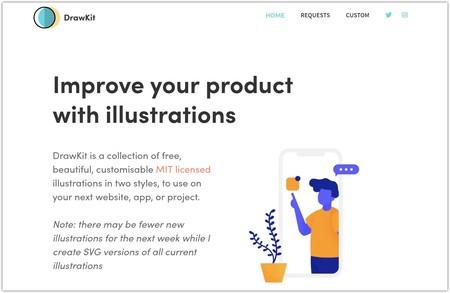 Drawkit Beautiful Free Illustrations Google® Chrome® 2018 doce 07 16 03 36