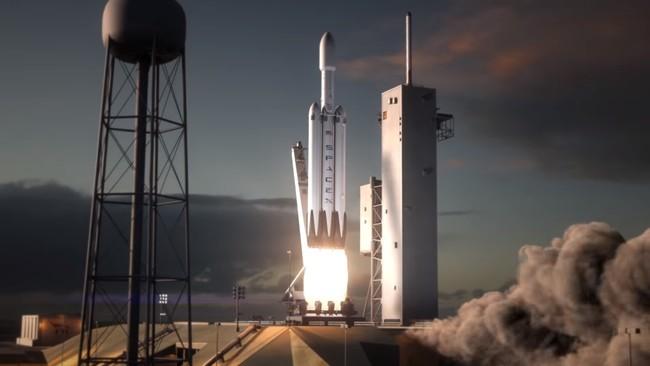 Despegue Falcon Heavy