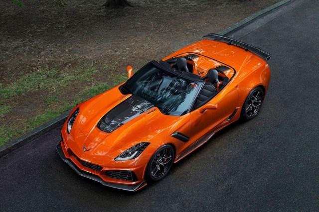 Chevrolet Corvette Zr1 Convertible 2019 8