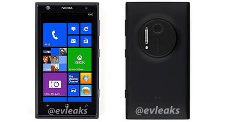 Nokia Lumia 1020, ein neues Bild und einige seiner Spezifikationen sind gefiltert