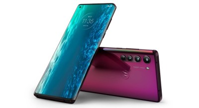 Motorola Edge, pantalla exageradamente curva y 5G para un móvil que aspira a la gama alta