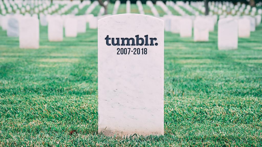 A tumba abierta: Tumblr y el fin del contenido adulto