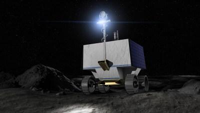 Este es el primer vehículo explorador espacial que lleva faros similares a los de un automóvil y es de la NASA