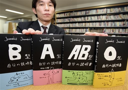 Japanese Blood Types