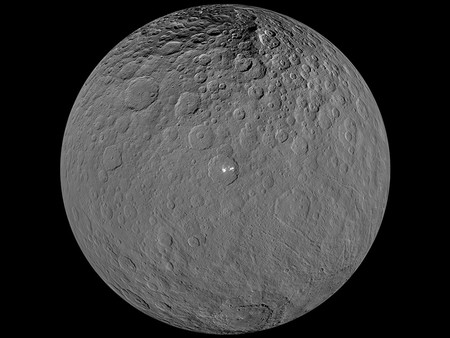 Ceres Puntos Brillantes