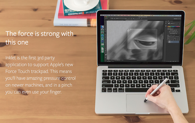 Inklet Aplicacion Force Touch