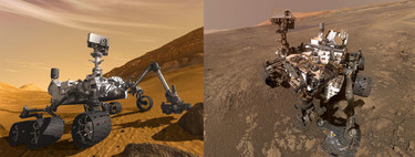Opportunity versus Curiosity: un cara a cara de los rovers de la NASA repasando su exploración de Marte