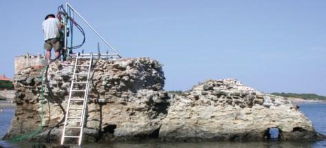 Roman Pier Italy