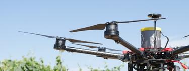 En Peñafiel, Valladolid, hay quienes quieren revolucionar el cultivo de vino con drones