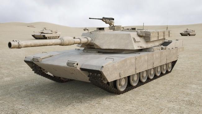 Tank M1 Abrams 3d Model C4d Max Obj Fbx Ma Lwo 3ds 3dm Stl 1522297 O