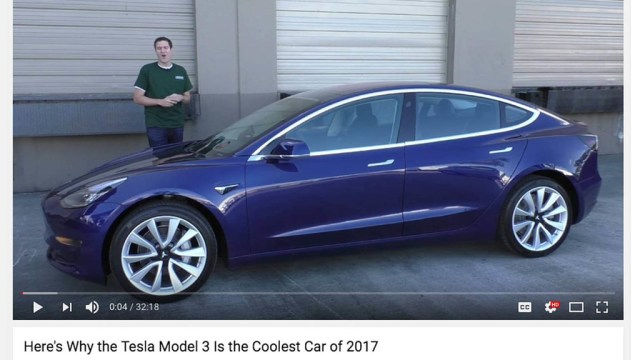 Tesla Model3 Doug De Muro