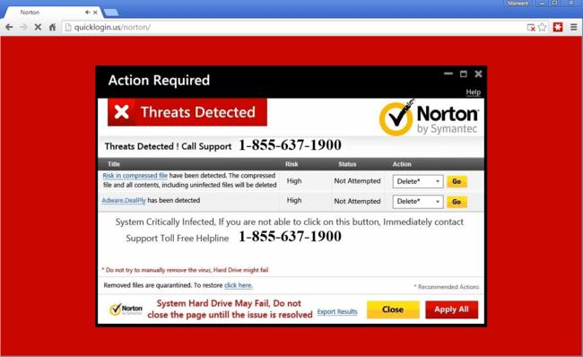 Norton Scam