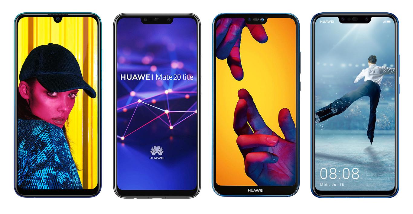 Huawei P20 Lite Smartphone Con Pantalla De 5819 9 4 Gb Ram 32 Gb De Memoria Interna