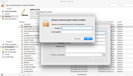 Contrasena Wifi® Mac