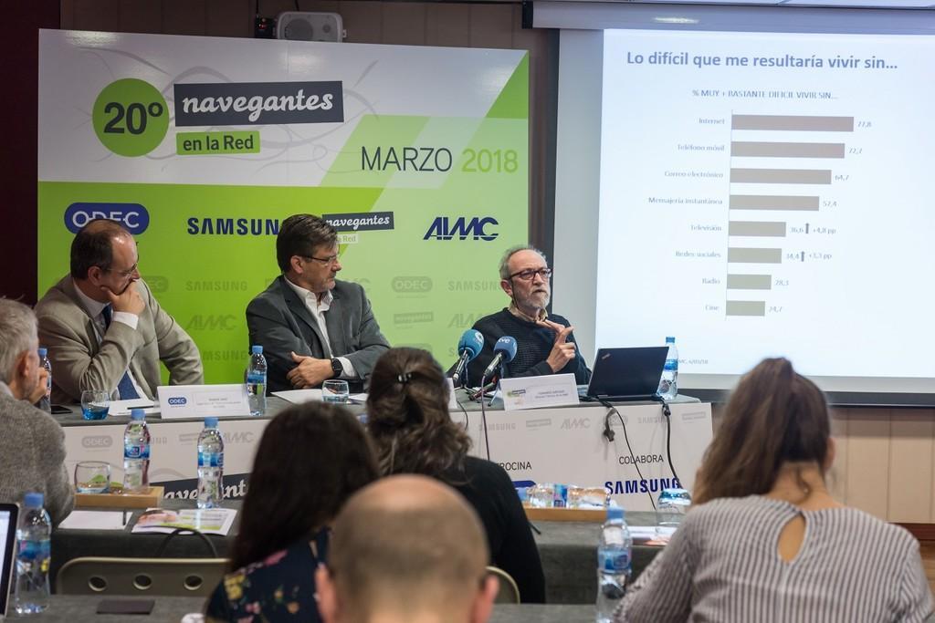 Rueda De Prensa Encuesta 20 Navegantes De La Red Aimc