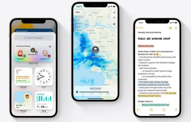 iOS 15 prescindirá de estas noticias en la 1.ª actualización de los iPhone