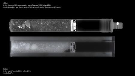 Luna muestras NASA