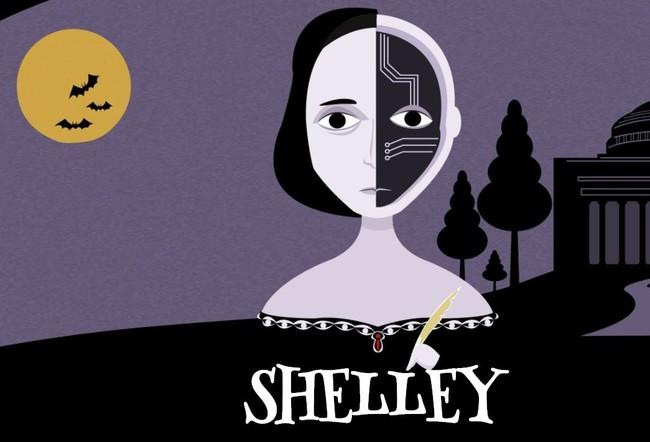 Shelley Robot Cuenta Historias Terror
