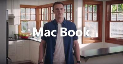 Un chico llamado «Mac Book» protagoniza una campaña de Microsoft en la que se meten con Apple