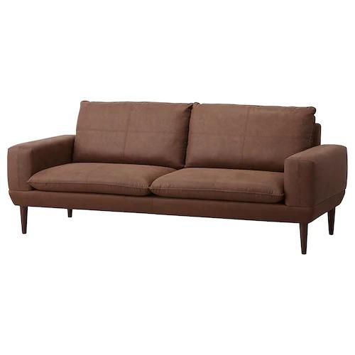 3 seater sofa, Järstad brown BODETTA from IKEA