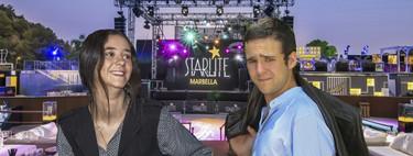 Victoria Federica y Froilán, alias Doña y Don 'palquitos VIP' en Starlite Marbella