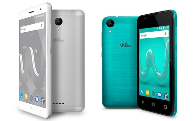 Wiko Jerry 02 y Sunny 2