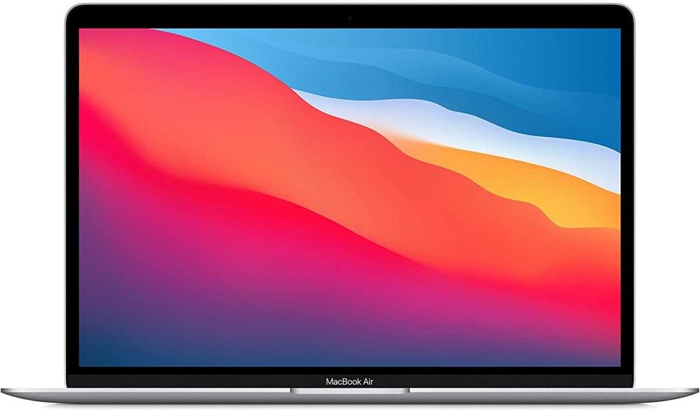 Nuevo Apple MacBook Air (de 13 pulgadas, Chip M1 de Apple con CPU de ocho núcleos y GPU de siete núcleos, 8 GB RAM, 256 GB SSD) - Plata
