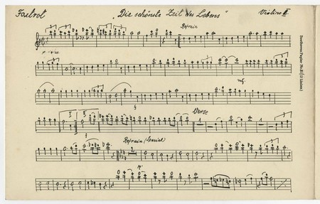 U M Professor Students Bring Rare Music Manuscript From Auschwitz Archive To Life Manuscript