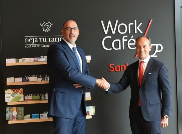 Telefónica y el Santander ponen en marcha la 1.ª oficina Smart Red 5G en Alcobendas, que ya es ciudad piloto